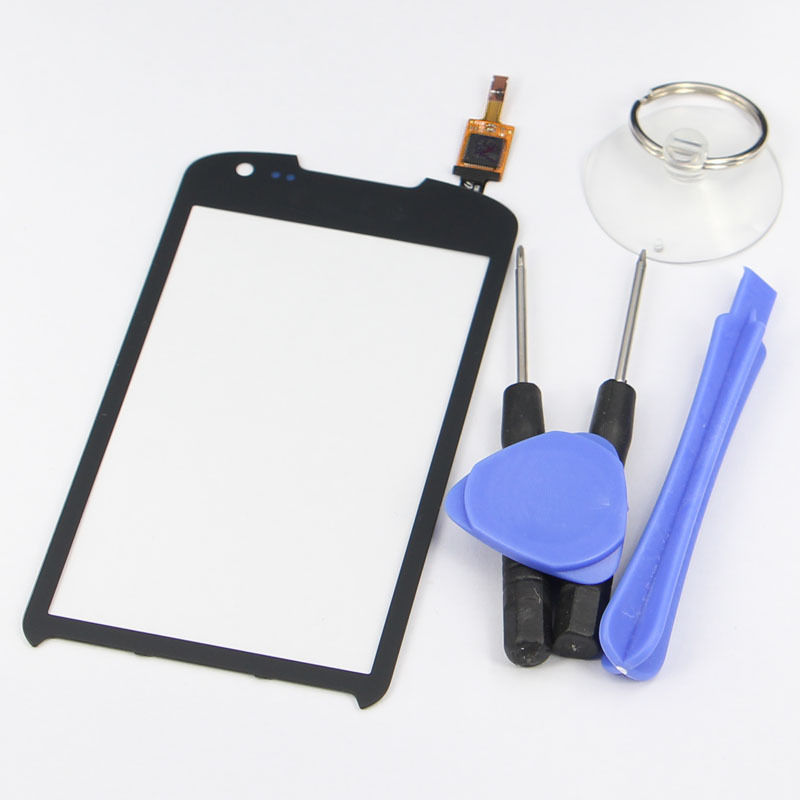 New Black For Samsung Galaxy Xcover 2 S7710 Touch Screen with Digitizer Glass Lens Replacement