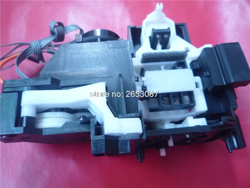 New original Capping Station Assembly ink pump assembly for Epson T1100 T1110 B1100 ME1100 printer service station for hp officejet 7000 6000 6500 7500a hp7000 hp6000 clean ink pump unit