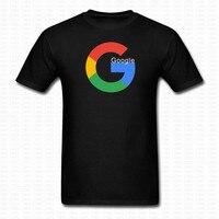 Google Icoon Gedrukt Grappige T-shirt Merk Kleding Tops Tees Katoen mannen Vrouwen Casual Shirts Hiphop Camisetas O Hals Zomer Shirts