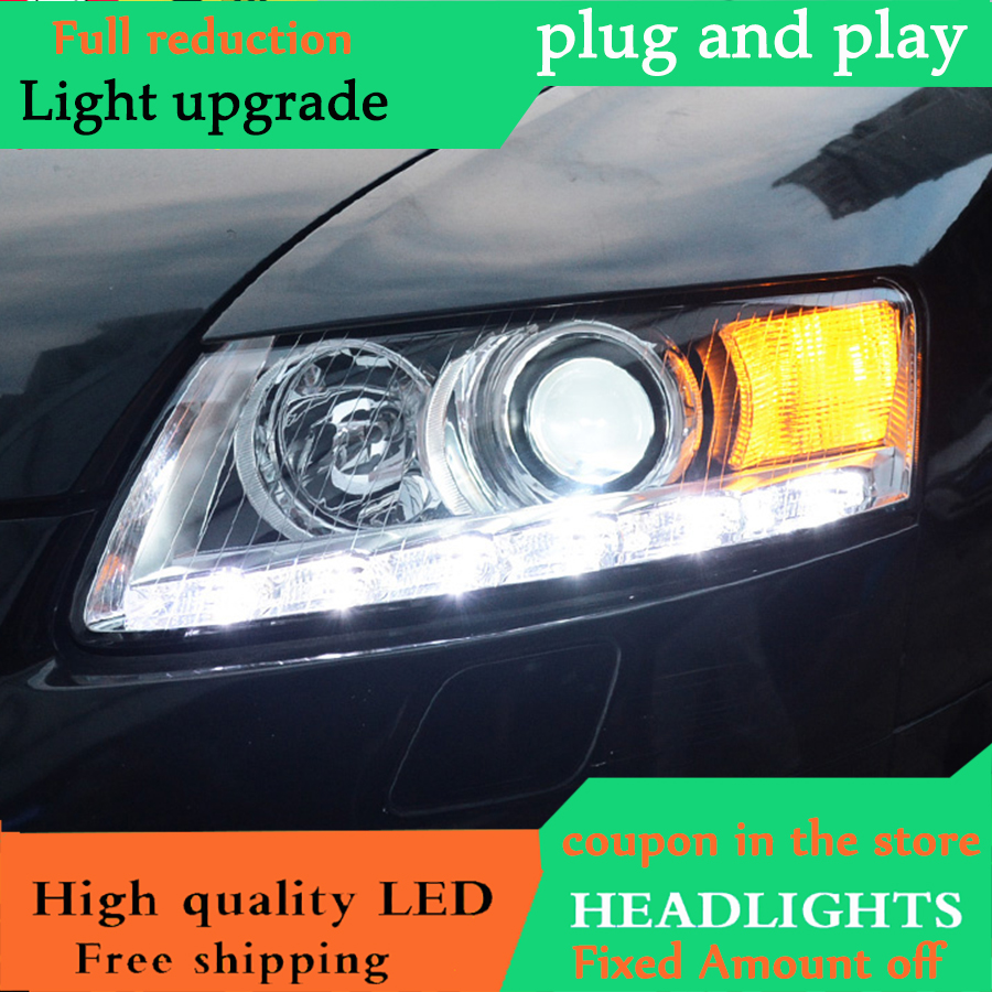 Dyl Car Styling For Audi A6 C5 Headlights 2005 2011 A6 Led