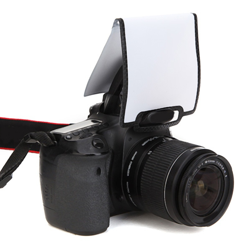 Universal Soft Screen Pop-Up Flash Diffuser Pouch Case For Nikon Pentax DSLR Camera Olympus For Sony Camera