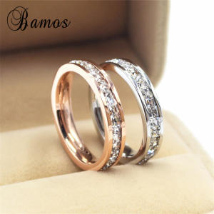 Bamos Female Wedding Engagement Rings For Women