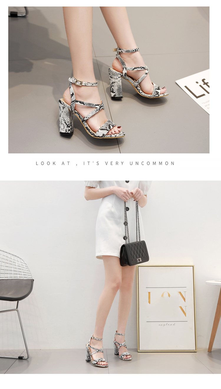 Aneikeh 2019 Summer New PU Shoes Women Sandals Sexy Open Toe Gladiator High Heels Women Shoes Big Size 41 42 Sandalias mujer