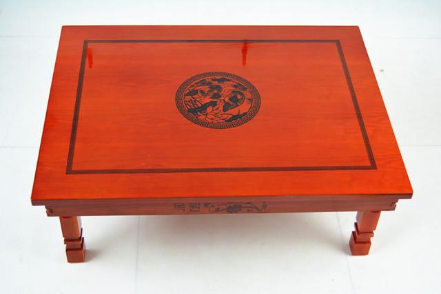 Coreano Perna da Mesa Dobrável Dobrável 60*45 CM Retângulo Sala de estar Mesa de Chá Tradicional Asiático Antigo Mobília De Jantar de Madeira tabela