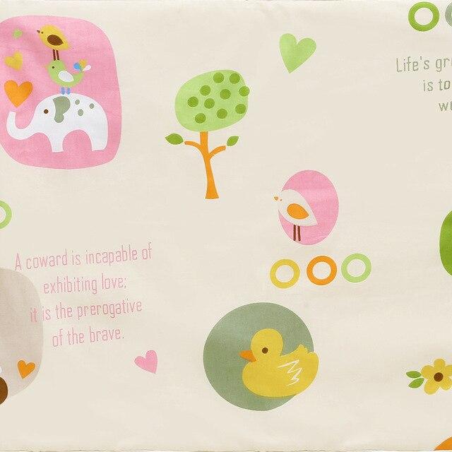 Пеленальный Коврик для младенцев, портативный складной моющийся Водонепроницаемый Матрас, коврик для путешествий, коврики, подушка, многоразовый матрас - Цвет: Синий