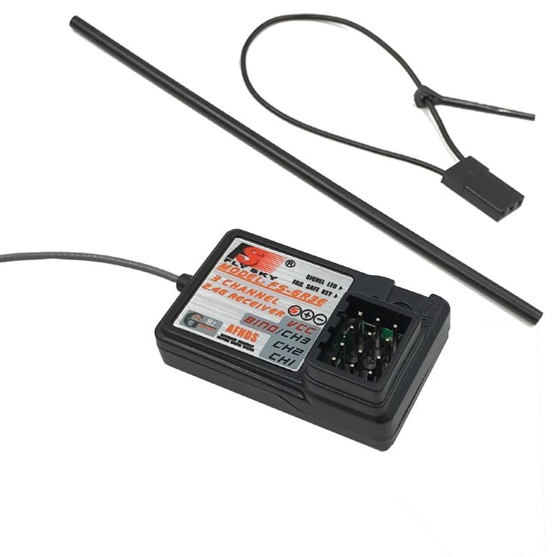 Flysky FS-GR3E 3 Channel 2.4G GR3E Receiver With Failsafe GT3B GR3C Upgrade For RC Car Truck Boat GT3 GT2 Transmitter