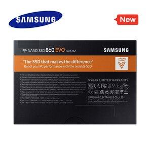 Image 4 - SAMSUNG SSD M2 860 EVO M.2 2280 SATA 1TB 500GB Gắn Trong 250GB SSD Đĩa Cứng HDD M2 Laptop MÁY TÍNH TLC PCle based M.2