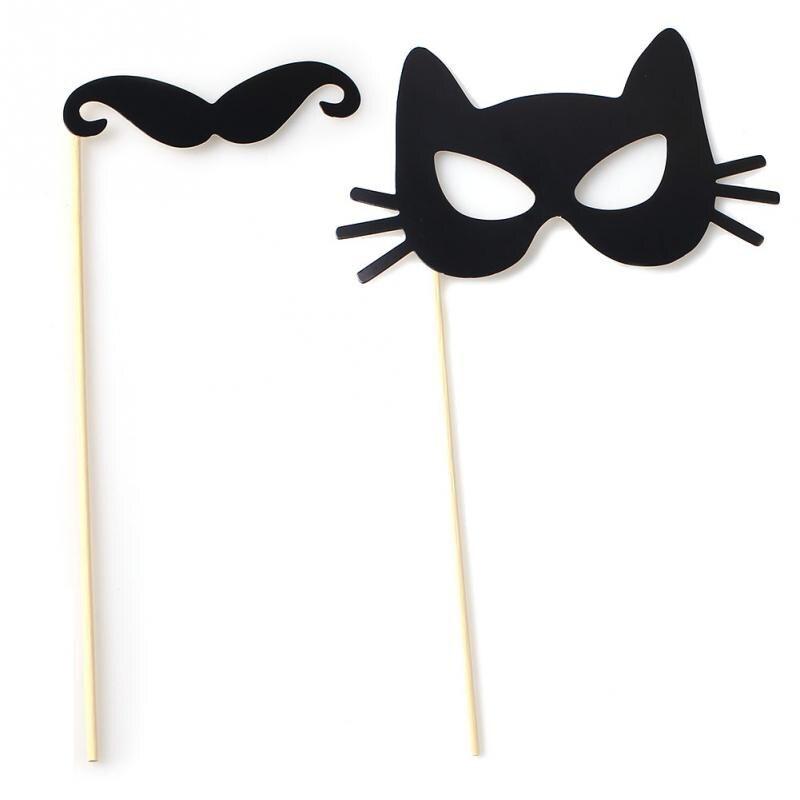 wedding shooting supplies 31pcs diy masks photo booth props mustache on a stick wedding birthday partyusd 359set