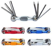 7 в 1 Многофункциональный велосипед механик ремонтный набор инструментов Отвертка шестигранные гаечные ключи инструменты