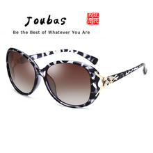 e07b9ad8b7 Joubas Polarized Sunglasses 2019 Woman Diamond Fox Ladies Sun Glasses Retro  Oval