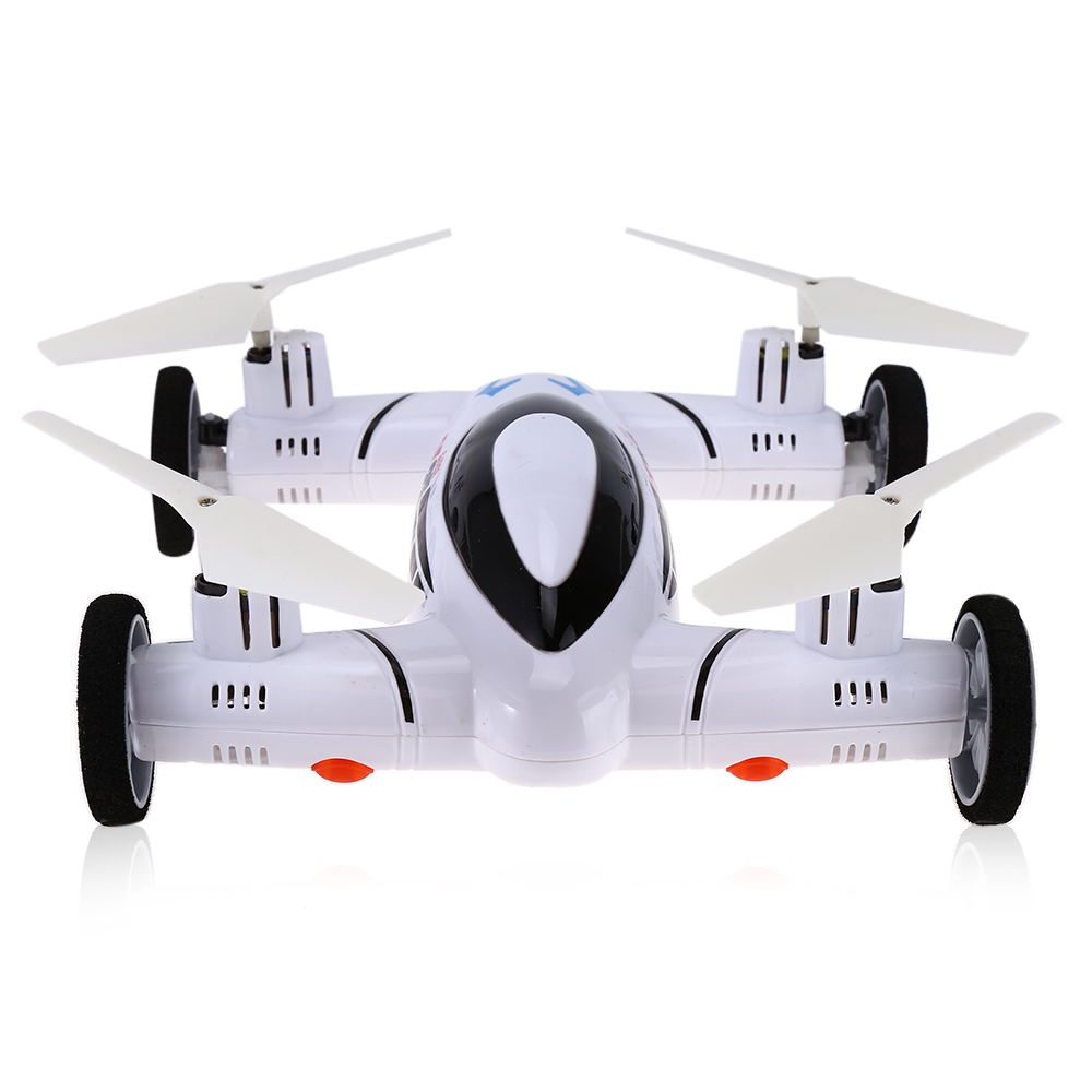 SY X25 2.4G 8CH 6 Axis Gyro 0.92MP HD Camera UFO Land / Sky RC Quadcopter with Light sy x25 rc quadcopter spare parts front right wheel