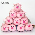 10pcs/lot Anime Cartoon Gravity Falls Pink Pig Waddles 6cm Plush Dolls with Chain Stuffed Soft Toys Kids Gift Pendants AP0016