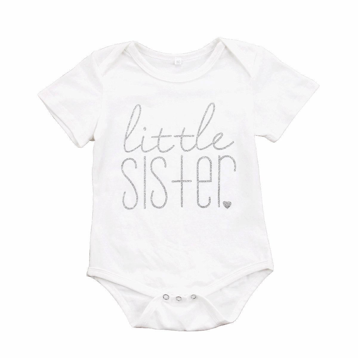 Kids Boys Brother Tops T-Shirt/Baby Girls Little Sister Romper Long Sleeve Pullover Hot Casual Fashion