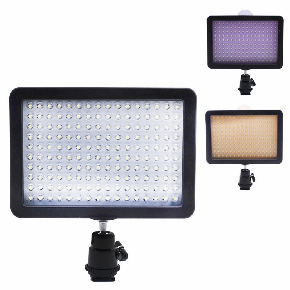 Bestlight Ultra High Power 160 LED Video Light Panel with Shoe Adapter for Canon/Nikon/Olympus/Pentax DSLR+Camcorders