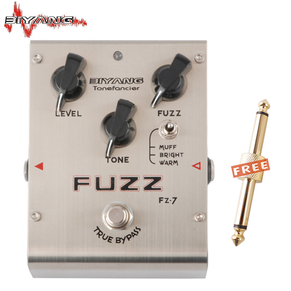 biyang tonefancier fz 7 guitar bass effect pedal 3 models fuzz distortion pedal true bypass. Black Bedroom Furniture Sets. Home Design Ideas