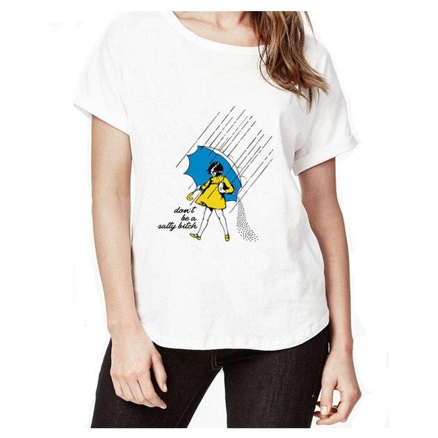 08f3135d216 Сука Harajuku печатных Для женщин футболки Повседневное летние шорты рукав  короткий рукав Футболка Для женщин топы