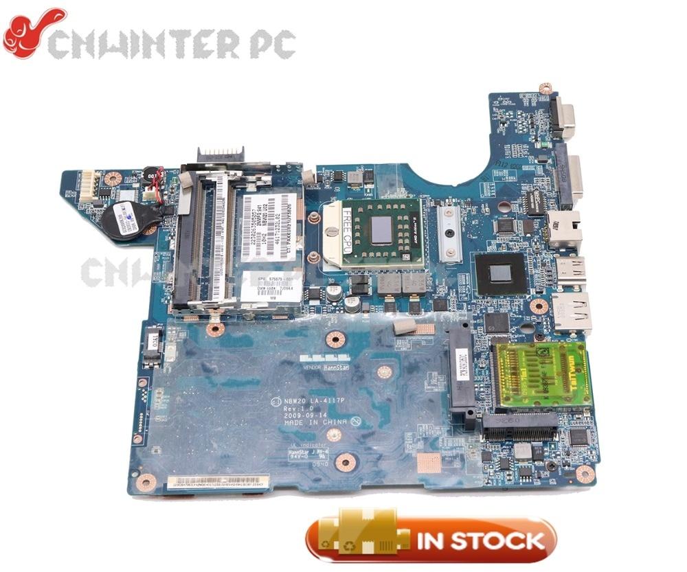 NOKOTION NBW20 LA-4117P 588017-001 Laptop Motherboard For HP CQ41 MAIN BOARD DDR2 Socket S1 Free cpu