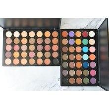 Glitter eyeshadow makeup pallete