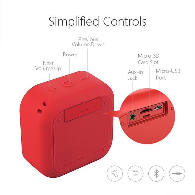 Wireless Bluetooth Speaker Waterproof Mini