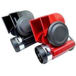 1 zestaw 6 typów 12V 125dB uniwersalny róg pompy ślimakowej do samochodu i motocykla