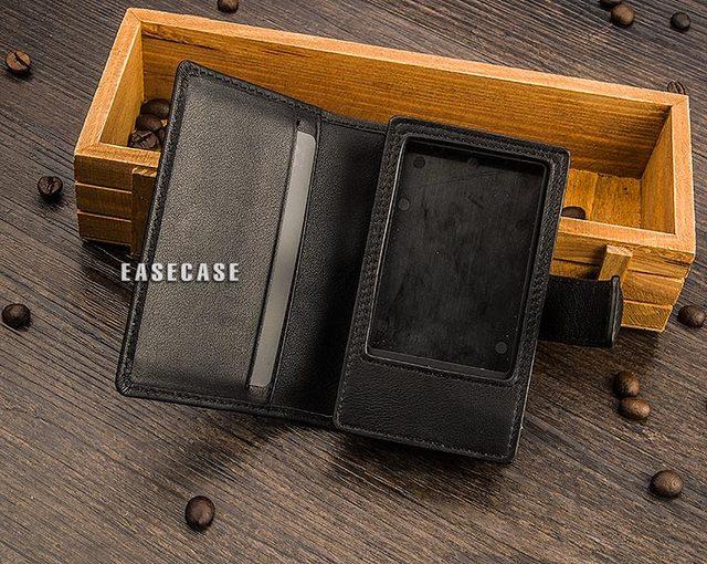 E4 Custom Made cassa Del Cuoio Genuino per CAYIN N3