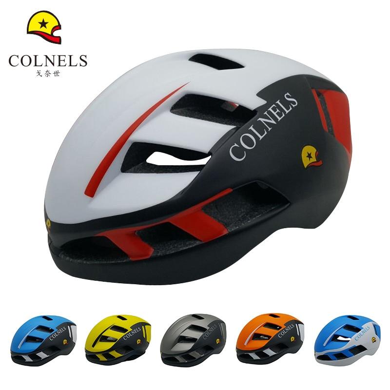 COLNELS Cycling Helmet Ultralight Integrally-molded Bike Helmet 2017new 7 colors Outdoor riding Adult Brand Bicycle Helmet