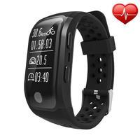 Cewaal Sports IP68 Waterproof Swimming Wristband Bluetooth Heart Rate Monitor Fitness Tracker Measure Mileage Smart Watch