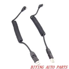 For Audi A1 A2 A3 A4 A5 A6 A7 A8 Q3 Q5 Q7 TT iphone 7 8 X Carplay Lightning & USB Charging Cable Set Android USB Cable Micro цена и фото