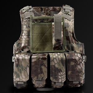 Image 3 - Children Outdoor CS Shooting Protection Gear Vest Kid Military Combat Training Camping Hunting Multi function Tactical Waistcoat