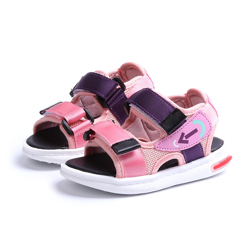Children Sandals Girls Boys 2018 Summer New Fashion Leisure Magic Subsidies Baby Sandals Beach Shoes Kids Sandals