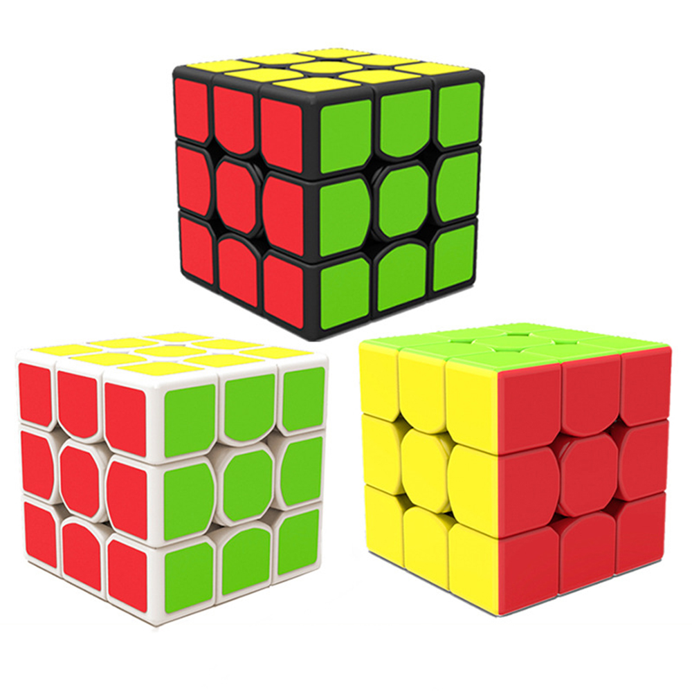 MO Fang Ge Qi Yi Feng XMD 3*3*3 Magic Cubes Puzzle Speed Cube Educational Toys Gifts for Kids Children bin feng page 3