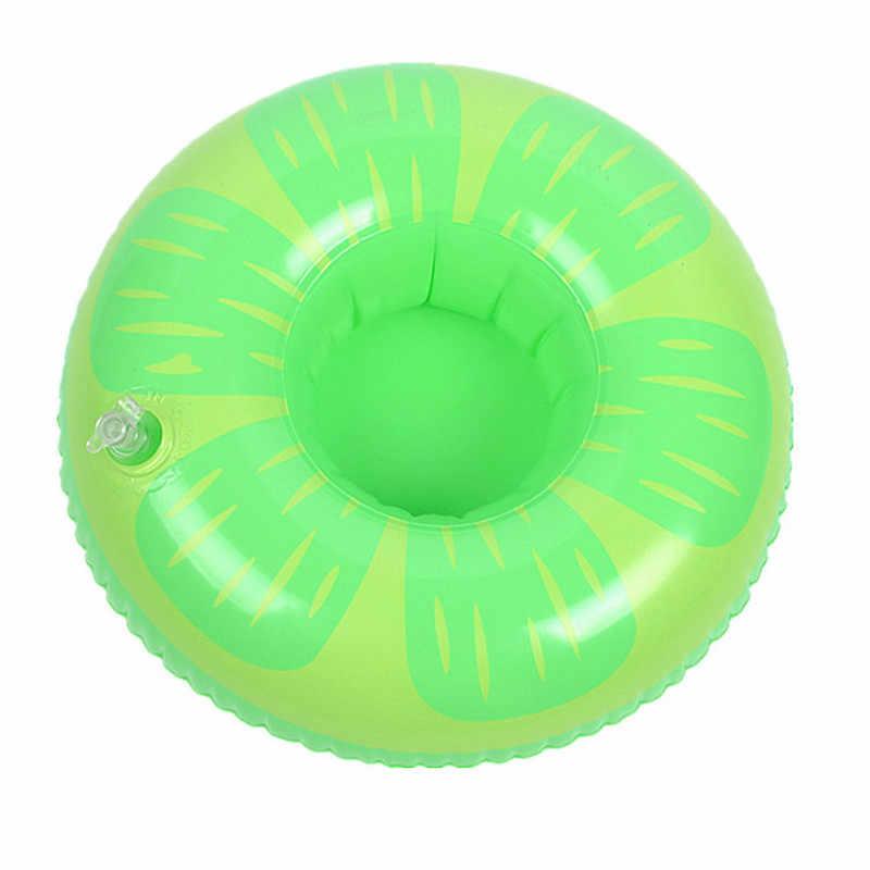 ผู้ถือเครื่องดื่มสระว่ายน้ำ Float Inflatable Floating สระว่ายน้ำ Beach Party เด็กว่ายน้ำเครื่องดื่มสำหรับโทรศัพท์ถ้วย