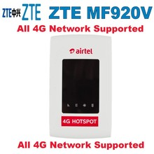 UNLOCKED-ZTE-MF920V-4G-LTE-WiFi-Modem-Router-Optus-Telstra-4GX FACTORY-UNLOCKED-ZTE-MF920V-4G цена и фото