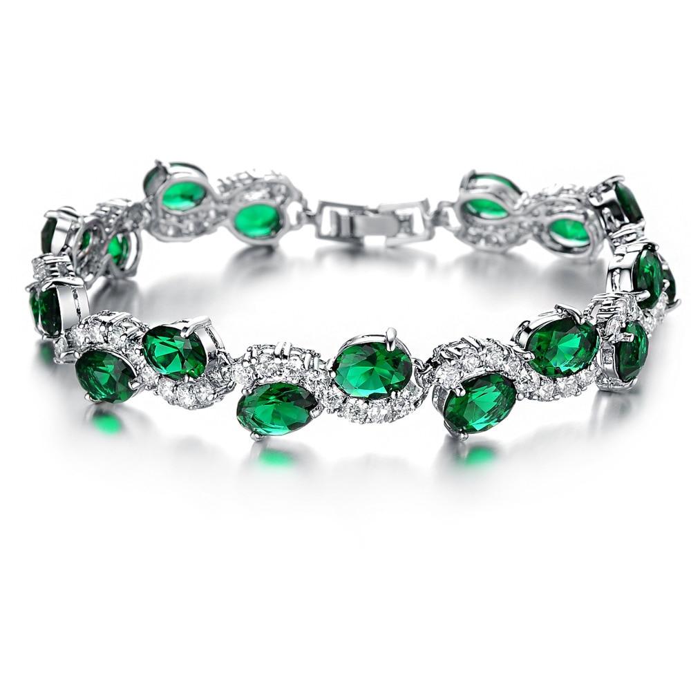 Fashion Cubic Zirconia Bracelets For Women Fashion Pulseiras Hot ...