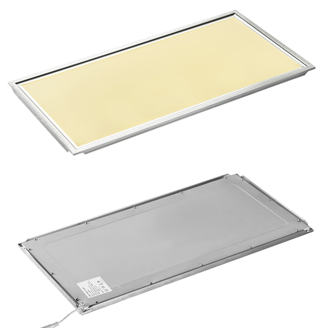 Rectangle LED Panel Light 600X300 18W Cold Warm White AC110-240V Home Office Decoration Aluminum  sc 1 st  AliExpress.com & Rectangle LED Panel Light 600X300 18W Cold Warm White AC110 240V ...
