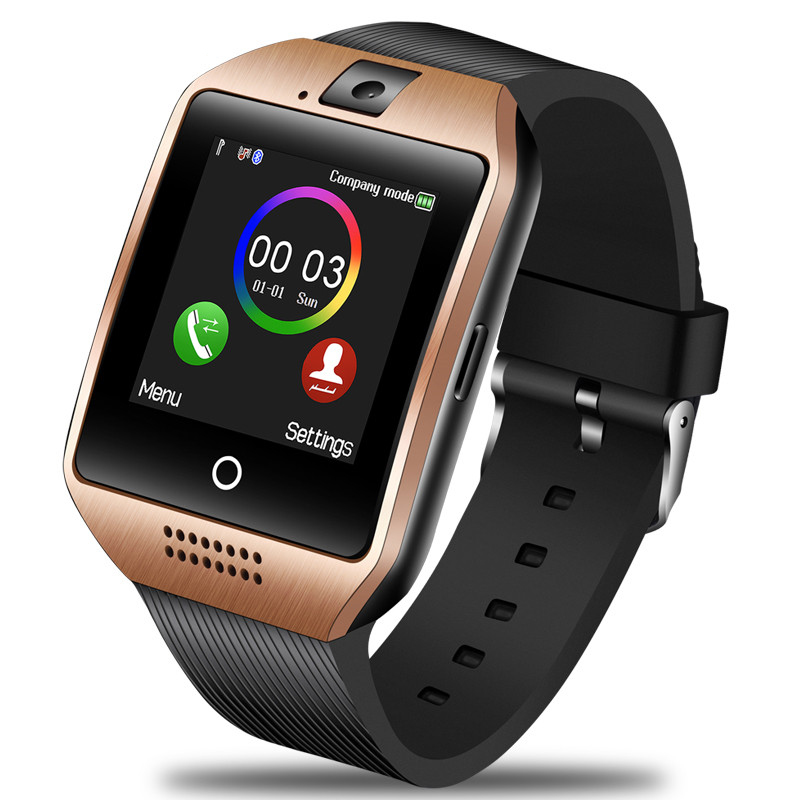 LIGE Men Women Large Dial Smart Watch men Sport Waterproof Smartwatch Support SIM Card Voice Call Bluetooth Music Player Box in Smart Watches from Consumer Electronics