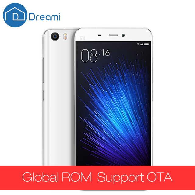 Dreami Original Xiaomi Mi5 3GB RAM 32GB ROM Snapdragon 820 Xiaomi mi 5 Quad core 1920x1080 16MP Fingerprint NFC MI5
