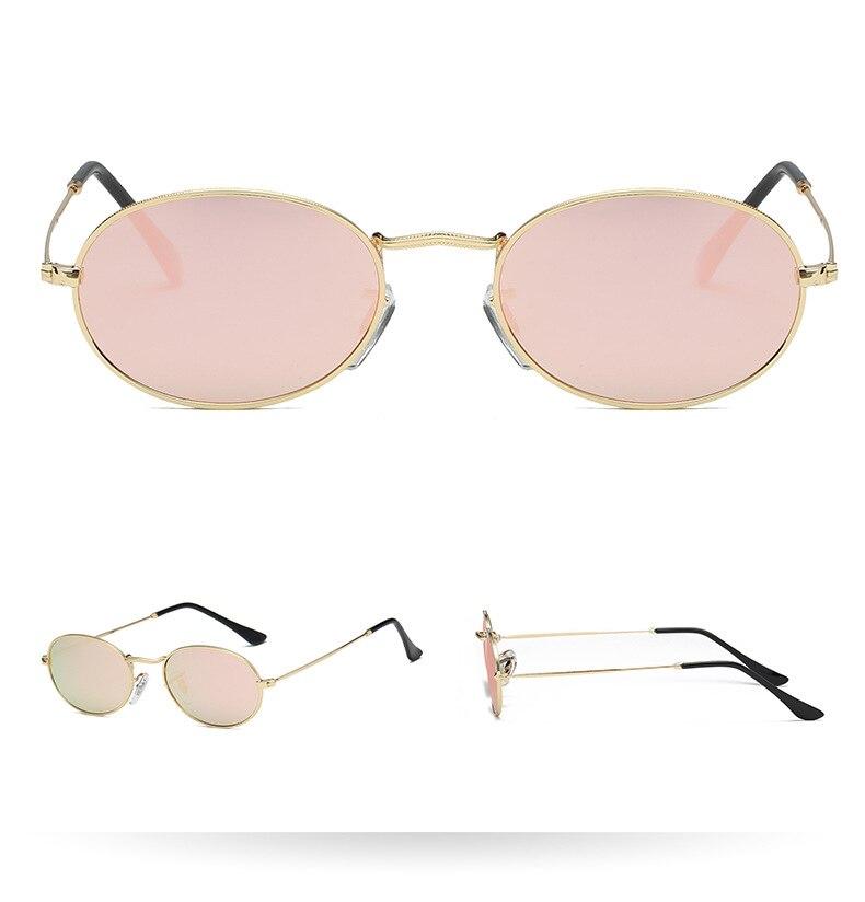 ROYAL GIRL Retro Round Alloy Frame Unisex Sunglasses
