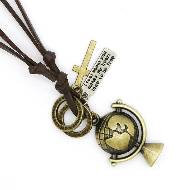 Купить модные оправы для очков кожаное ожерелье панк ретро регулируемые