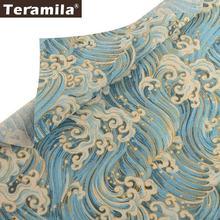Тканевая ткань teramila из хлопка и льна тканевые измерительные