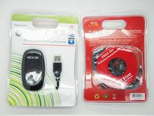 Hot rusia brasil para xbox 360 pc receptor de juegos inalámbrico usb adaptador nuevo