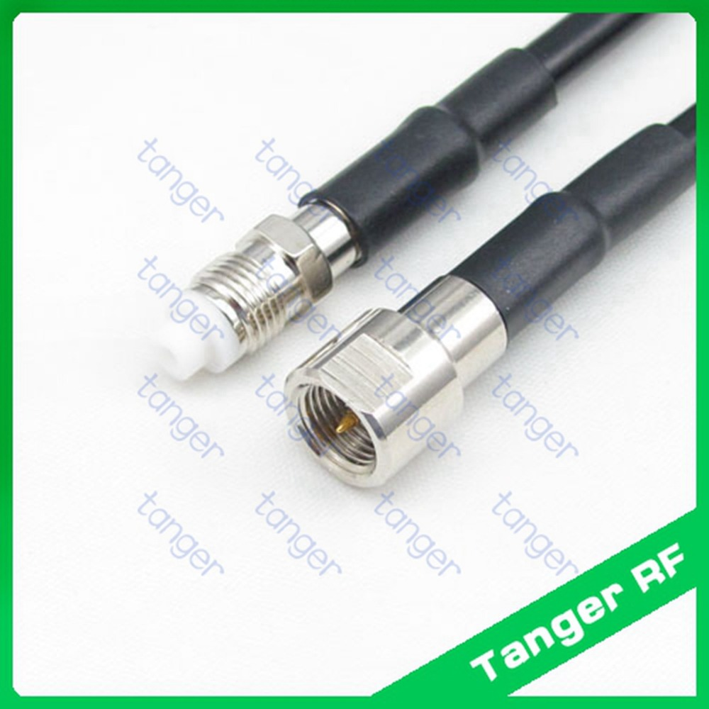 Connector Tang Us 5 2 Hot Tanger Fme Male Plug To Fme Female Jack Connector Straight Rf Rg58 Pigtail Jumper Coaxial Cable 40inch 100cm High Quality In Connectors