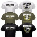 Fashion Mens Krav Maga Israel Combat System Self Defense IDF MMA Martial Arts T-shirt Funny Print Cotton Short Sleeve Shirt Tee