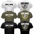 Moda Para Hombre de Krav Maga Sistema de Autodefensa Combate de LAS FUERZAS de defensa de Israel MMA Artes Marciales Camiseta Divertida de Impresión Camisa de Algodón de Manga Corta Tee
