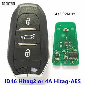 Image 1 - QCONTROL リモートスマート車のキープジョー 208 308 508 3008 5008 旅行エキスパート 433 mhz 434 mhz キーレスゴー行く