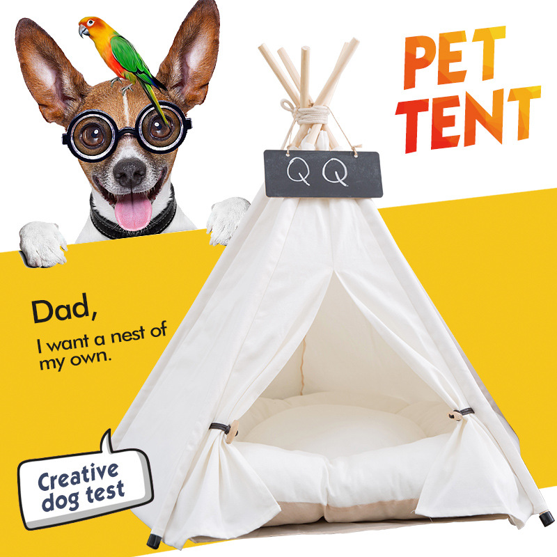 Pet Houses Cat Portable Dog Tents For Small Dogs Foldable Dog House Pet Bed Tent Cat Kennel Indoor Portable Travel Puppy Mats 1