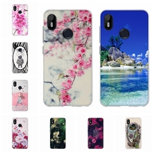 For BQ Aquaris C Protective Case Ultra-thin Soft TPU Silicone Cover Cute Animal Patterned Coque Funda