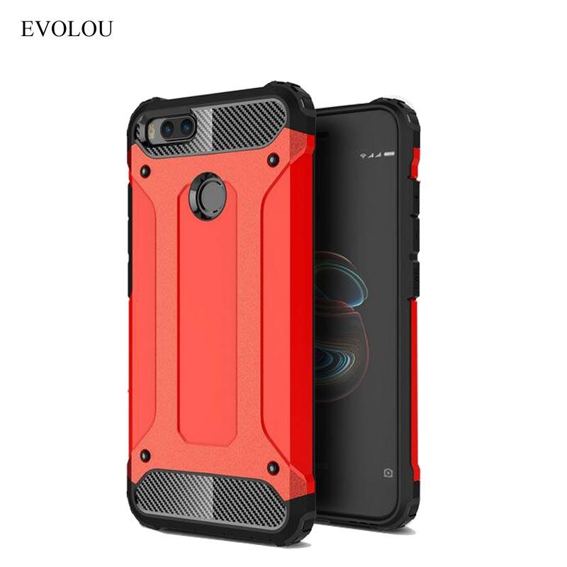Case for Xiaomi Mi5x Mi A1 Back Cover Hybrid Armor Case for Xiaomi 5X MI 5X Phone Cases Shockproof Silicone Cover MIA1 Coque
