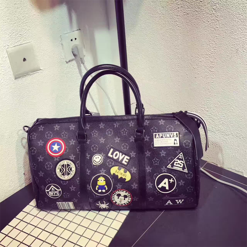 Brand Fashion Travel bag Luxury PU hand luggage bag business carry on suitcase women men travel