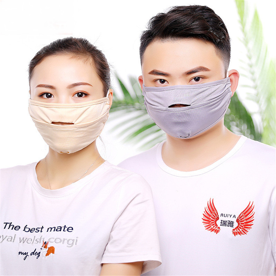 1pcs Korean Kpop Couples Breathable Sunscreen Mask Love Yourself Mask Outdoor Cycling Half Mouth Face Mask Anime Dustproof Mask